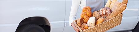 livraison de boulangerie et de pâtisserie