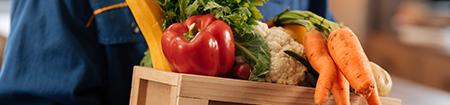 livraison de produit de l'agriculture
