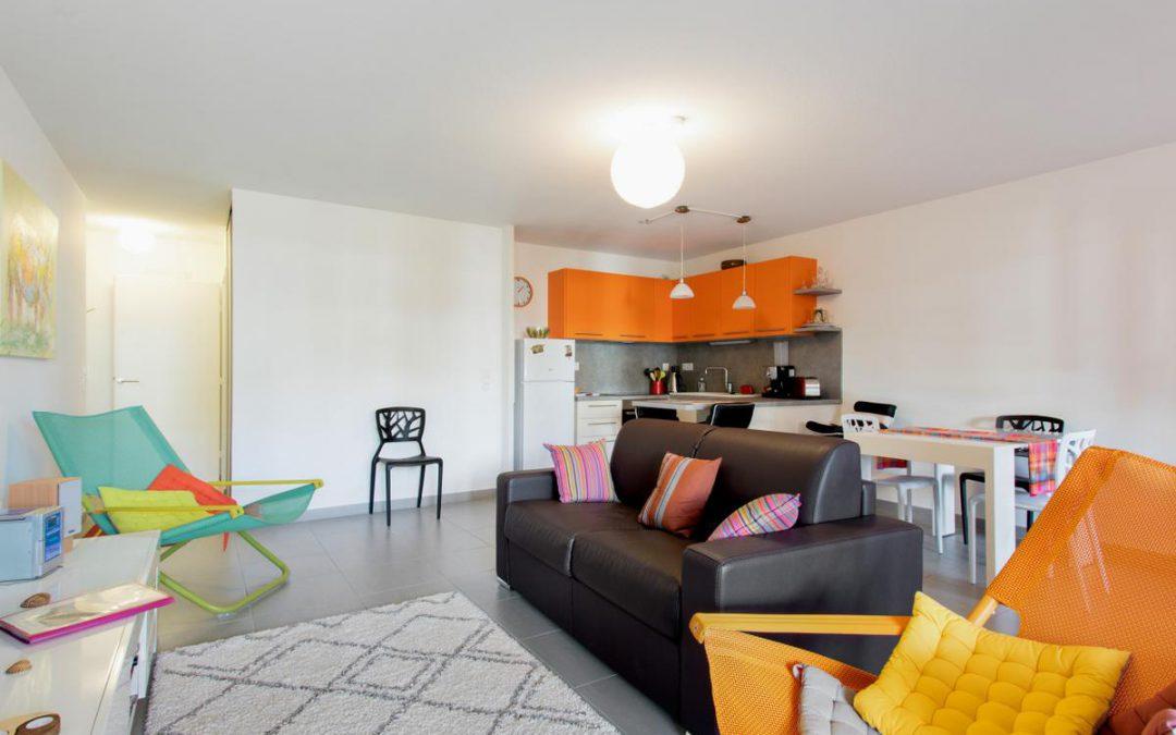Appartement 68m2 avec piscine – Montpellier