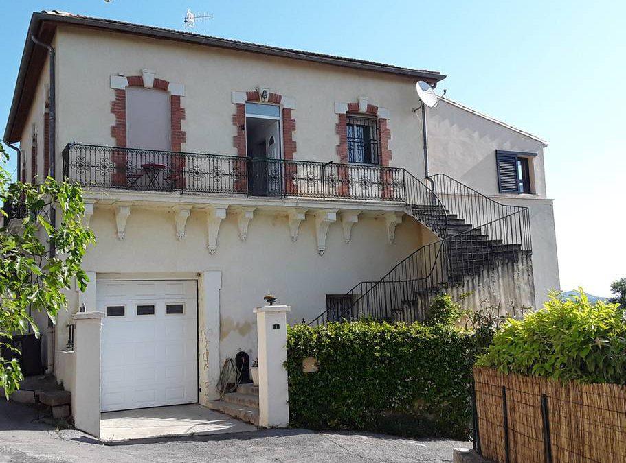 Maison 120m2 en pleine nature- St Mathieu de Treviers