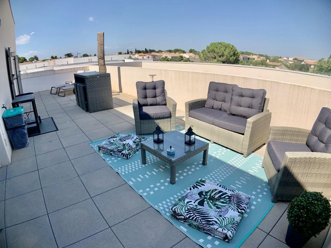 T3 en rooftop- Baillargues
